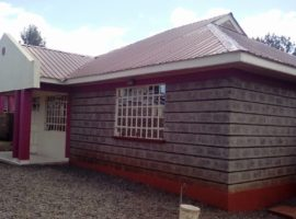 Newly built three bedroom for sale in Ngong, Matasia