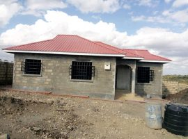 Newly built 3 bedroom bungalow for sale in Kiserian